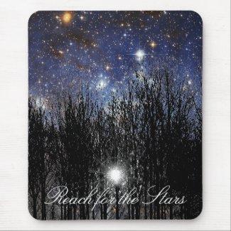Starscape & Trees: Reach - Mousepad mousepad