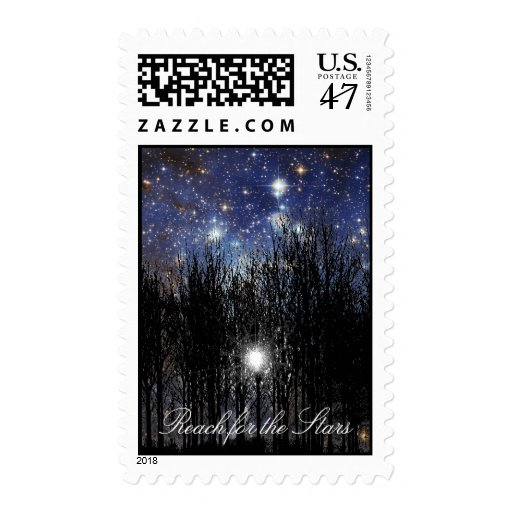 Starscape & Trees: Reach - Postage #1
