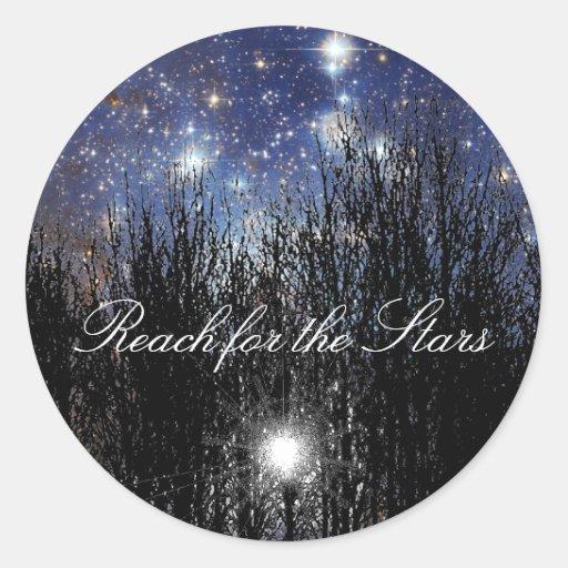 Starscape & Trees: Reach - Sticker