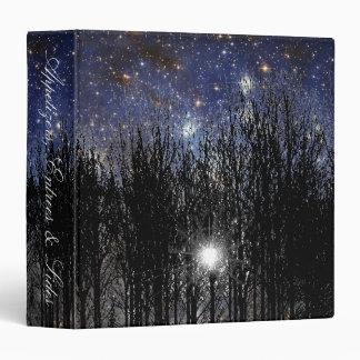 Starscape & Trees - Recipe Binder