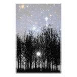 Starscape & Trees - Stationery