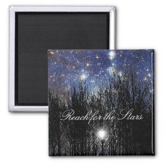 Starscape y árboles: Alcance - imán #1