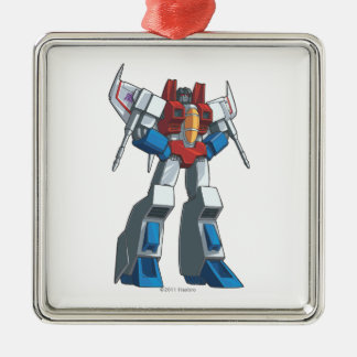 Starscream 1 metal ornament