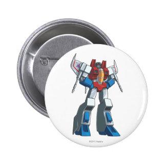 Starscream 1 pinback button