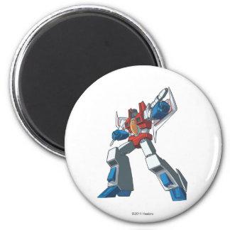 Starscream 2 2 inch round magnet