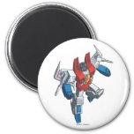 Starscream 3 2 inch round magnet