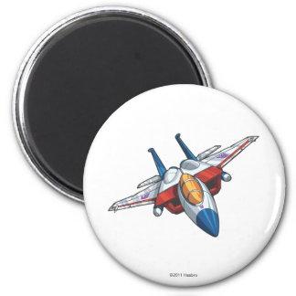 Starscream Jet Mode 2 Inch Round Magnet