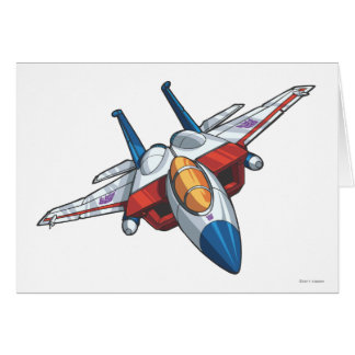 Starscream Jet Mode Card