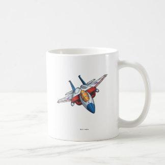 Starscream Jet Mode Classic White Coffee Mug