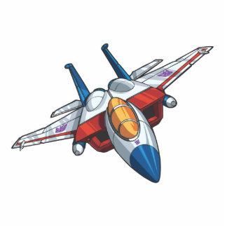 Starscream Jet Mode Acrylic Cut Out