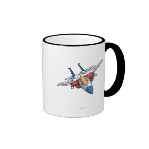 Starscream Jet Mode Ringer Coffee Mug