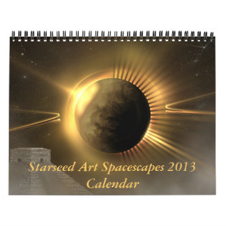 Starseed Art Spacescapes 2013 Calendar