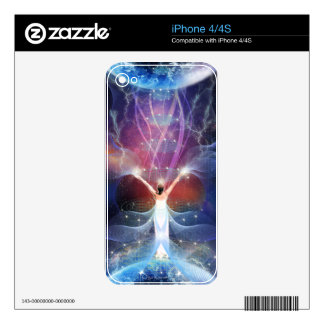 """""""Starseed"""" - Between Two Worlds. Skins For iPhone 4S"""