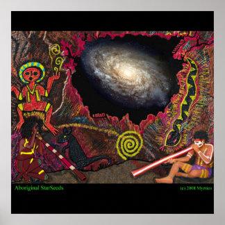 StarSeeds aborigen Póster
