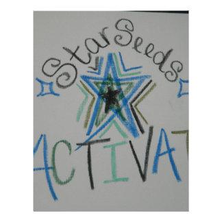 Starseeds Activate Light Language symbol Letterhead