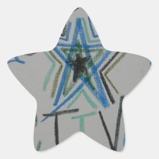 Starseeds Activate Light Language symbol Star Sticker