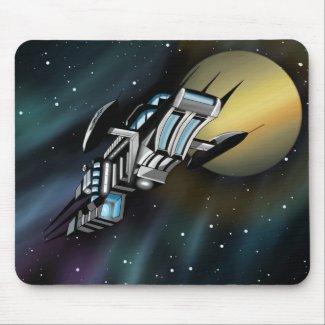 Starship Mousepad