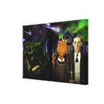 Starship R'lyeh and Lovecraftian Gothic Canvas Print