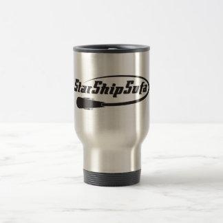 Starshipsofa logo travel mug