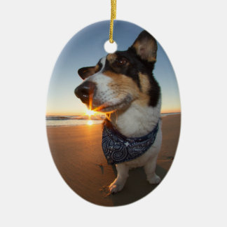 StarStruck at the Beach Ceramic Ornament