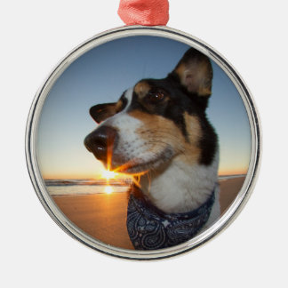 StarStruck at the Beach Metal Ornament