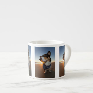 StarStruck en la playa Taza Espresso