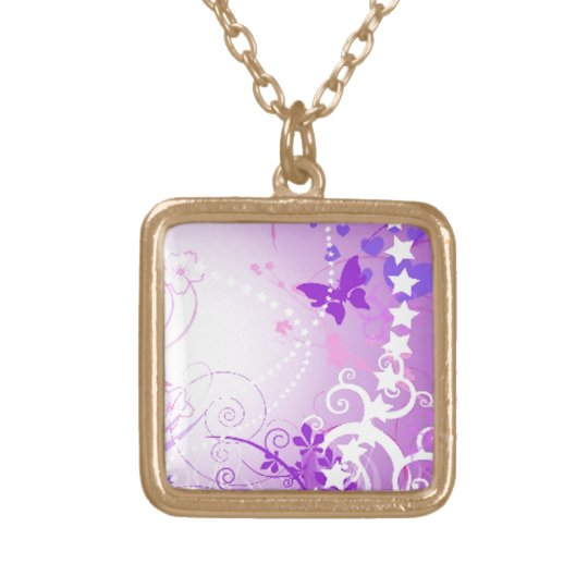Starstruck Gold Plated Necklace