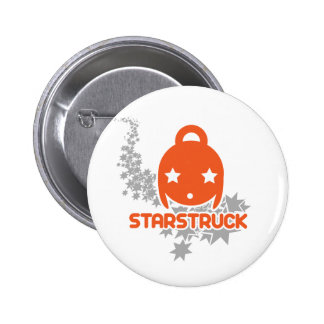Starstruck Kawaii Pinback Button