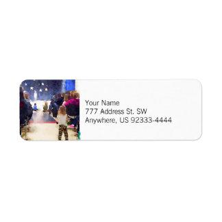 Starstruck Return Address Label