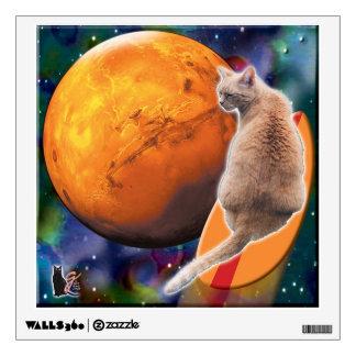 StarSurfer-Cat Chili Pepper PixPane(TM) Wall Decal