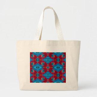 starswirl jumbo tote bag