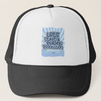 Start A Reading Revolution Trucker Hat