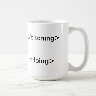 Start Doing! Classic White Coffee Mug
