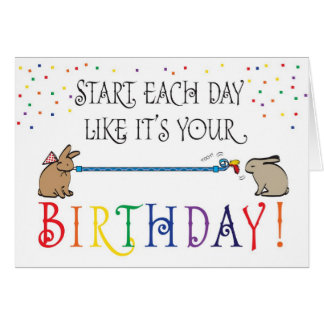 START EACH DAY GREETING CARD