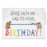 START EACH DAY GREETING CARDS