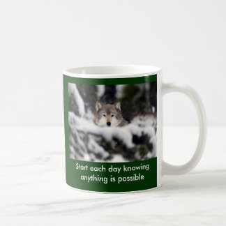 Start each day mug