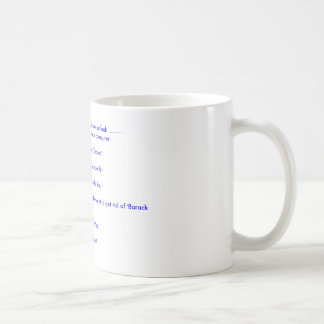 Start each day off with a positive outlook........ coffee mug