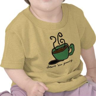 Start 'em young. t-shirt