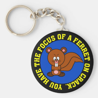 Start focusing on getting your job done keychain