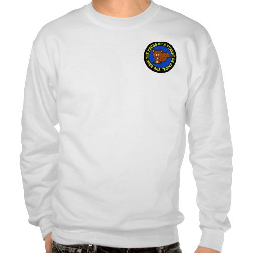 Start focusing on getting your job done pull over sweatshirt