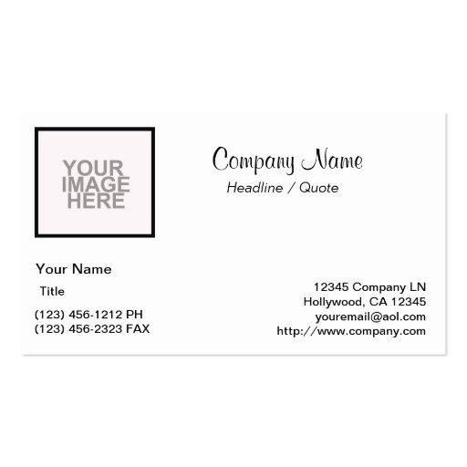 Start from Scratch! Business Card