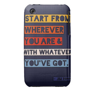 Start from wherever you are iPhone 3 Case-Mate case
