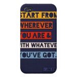 Start from wherever you are iPhone 4/4S cover