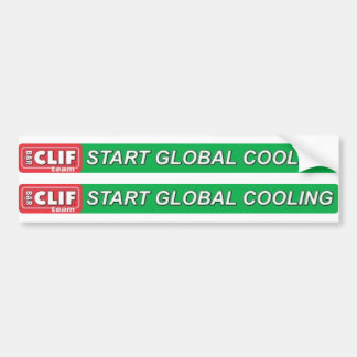 Start Global Cooling Top Tube Logo Bumper Sticker