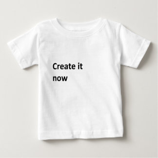 Start here create your own baby T-Shirt