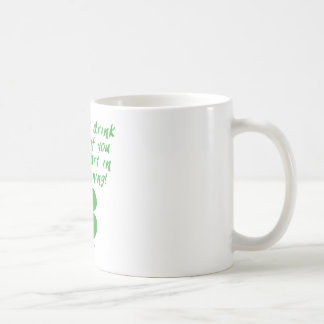 Start In The Morning Classic White Coffee Mug