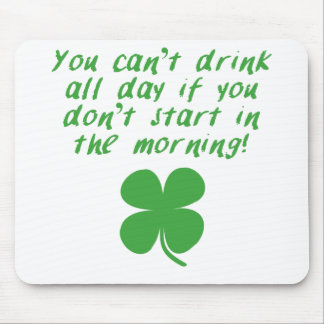 Start In The Morning Mouse Pad