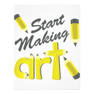 Start Making Art Letterhead