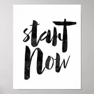 Start Now Poster