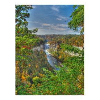 Start Of Autumn Postcard